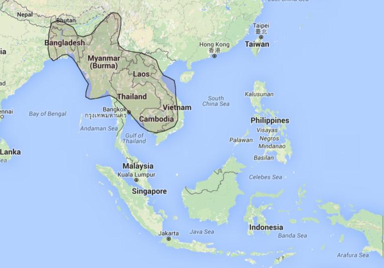 daftar beam satelit ku band laosat 1