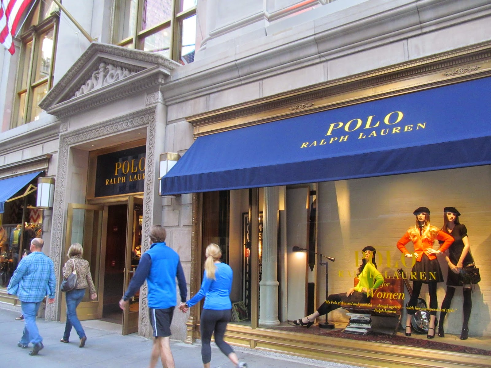 pink in the city new polo ralph lauren store on fifth ave nyc