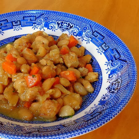 pork stew with white beans recipes dishmaps french pork and white bean ...