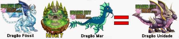 Cruzamentos para fazer o Dragão Unidade