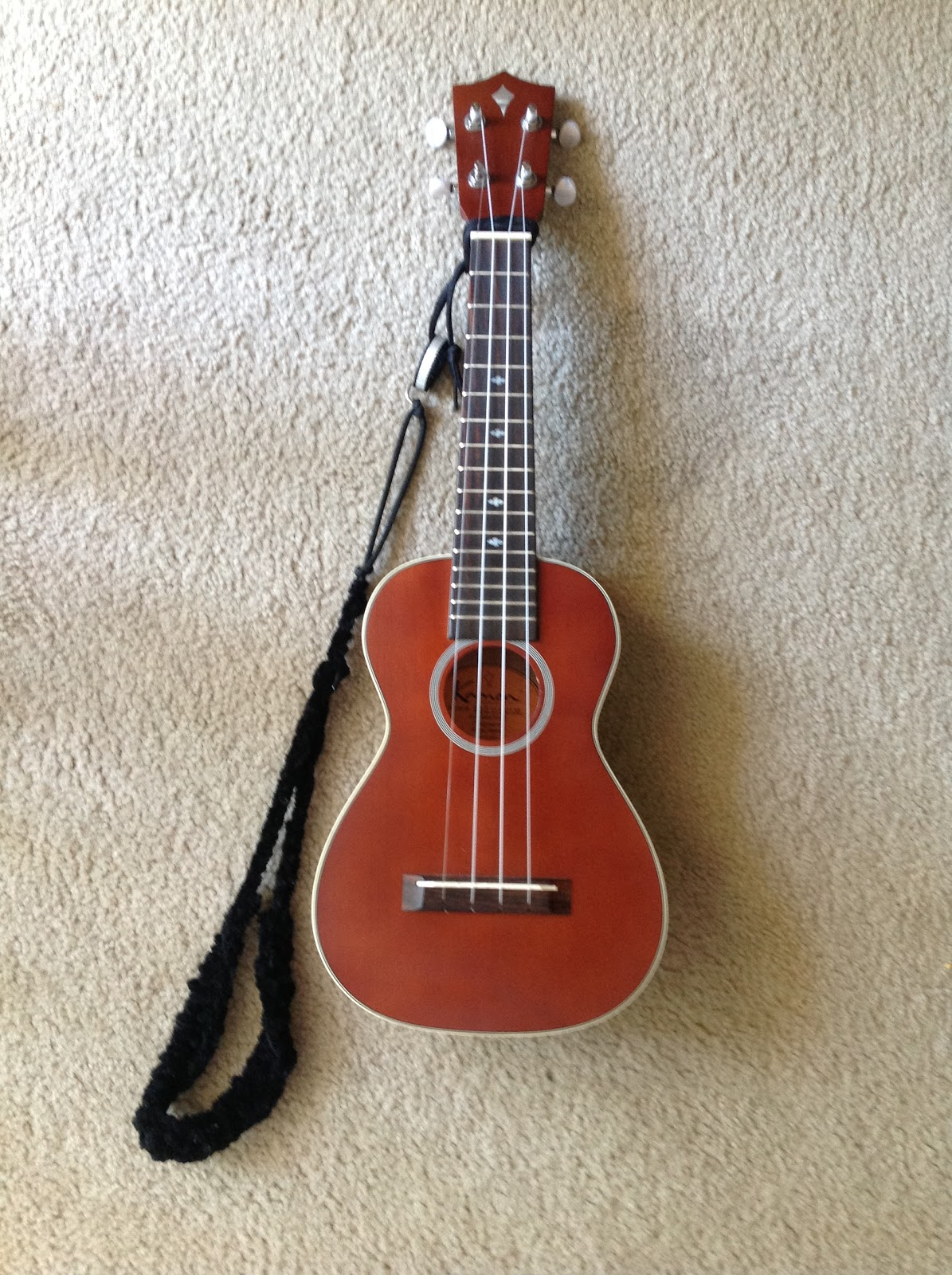 homemade uke leash