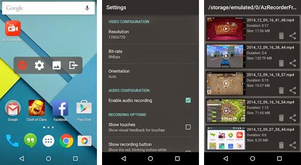 Cara Merekam Layar Dengan Mudah di Android Lollipop