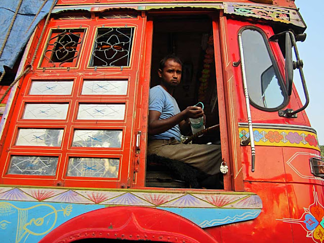 truck driver in India