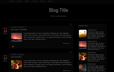 Bloggers Dark Template - FREE Download - http://techattacks4u.blogspot.in/