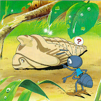 Contoh Dongeng Anak Indonesia : Kisah Semut Dan Kepompong,kepompong kartun