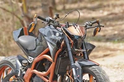 Modifikasi Suzuki Thunder 125