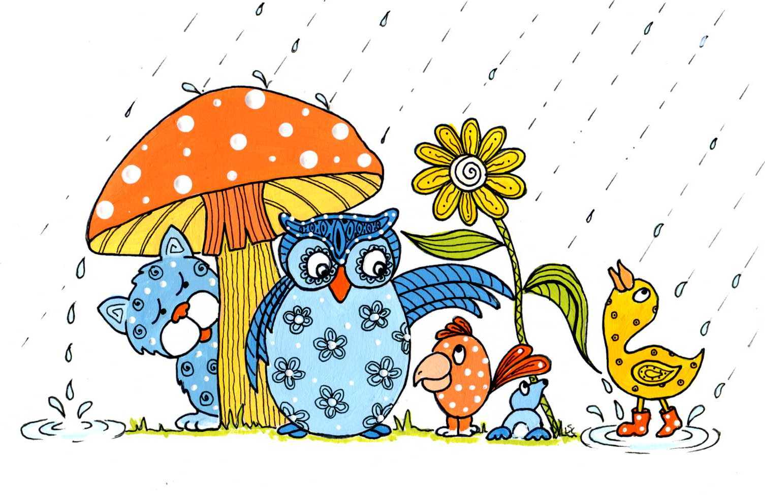Go check out other April showers from Tuesday onwards over on Mr T's ...