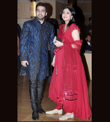Shilpa Shetty in Dheeraj and Vilasrao Deshmukh marriage