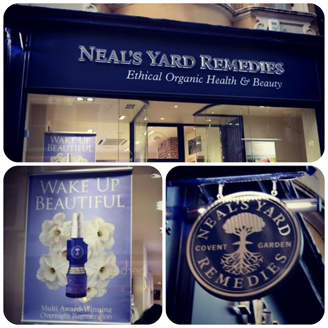 Store front at Neal's Yard, King Street, Manchester