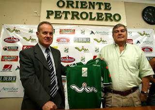Oriente Petrolero - Carlos Ramacciotti - Choco Antelo - Club Oriente Petrolero