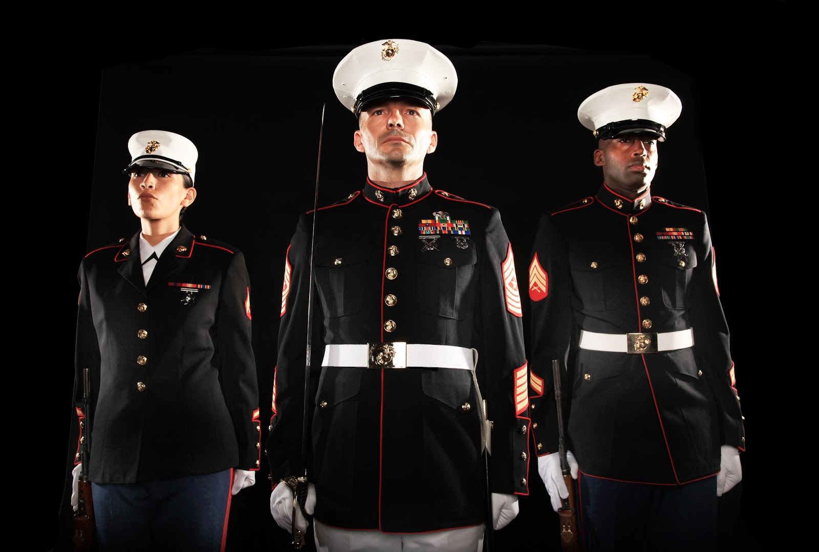 a description of marine corps differ from other branches of us military Other fox news insider  will become members of the us navy, air force, air national guard and marine corps,  each of them are joining a different branch of the military.