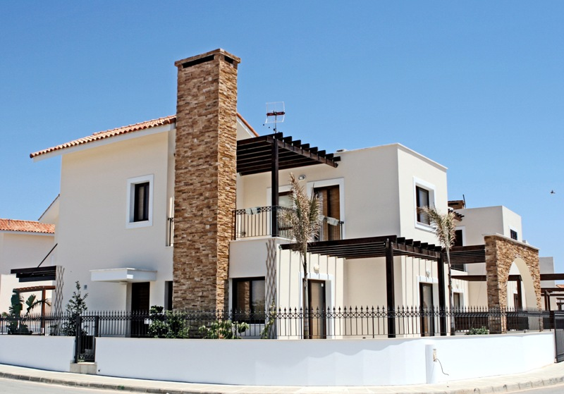 New home designs latest greek cypriots village homes for Home design in village