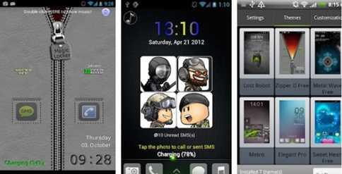 Aplikasi Kunci Layar Android Resleting