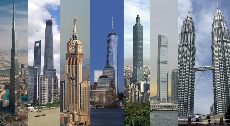 Viajaresvida - edificios más altos del mundo 2015