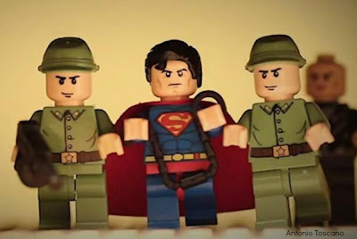 man of steel trailer,man of steel lego,superman lego,capes on film
