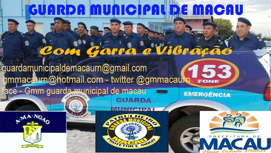 GUARDA MUNICIPAL DE MACAU - GMM