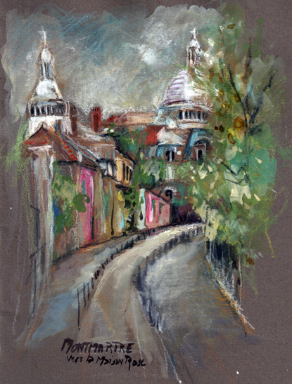 Montmartre, Carnet de voyage parisien, Delphine Priollaud-Stoclet
