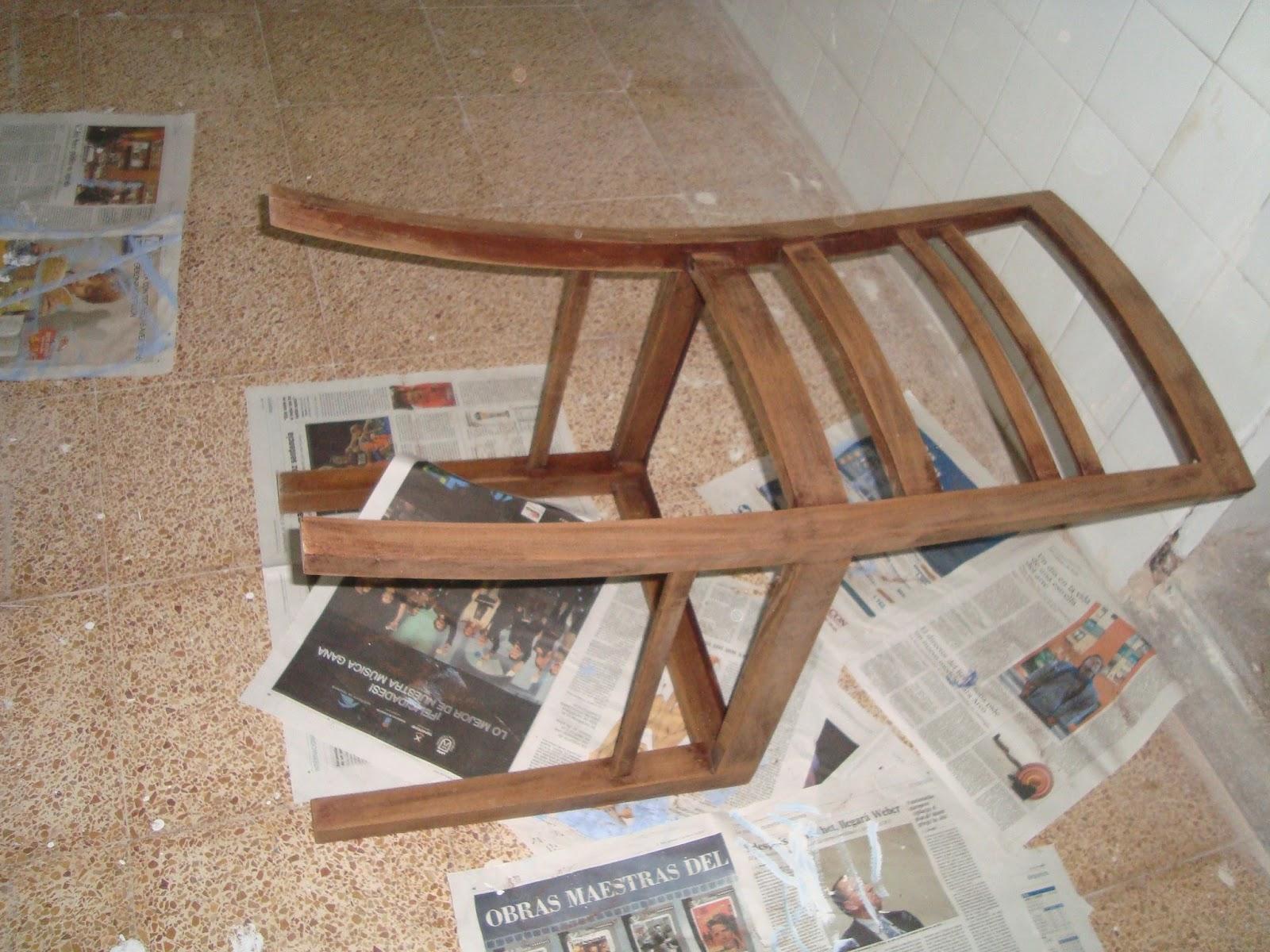 Como lijar una silla de madera como lijar una silla de madera como lijar una silla de - Como tapizar sillas de madera ...