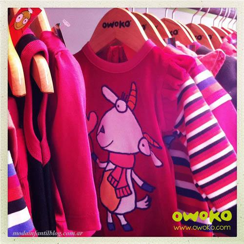 moda en ropa para niñas owoko otoño invierno 2014