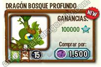 imagen de la formula del dragon bosque profundo