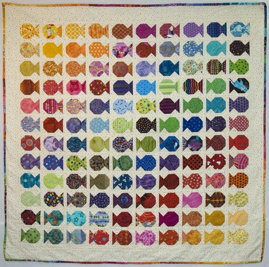 img by machine guild museum february quilted fish cline patty quilt baby kissing