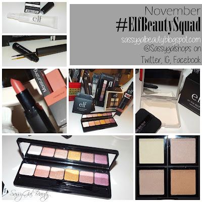 #elfBeautySquad - November Edition (SassyGalBeauty)