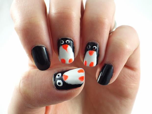 notd penguin nails ramblings
