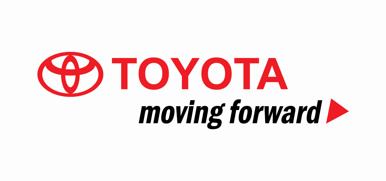 Vector Of The World Toyota Moving Forward Logo
