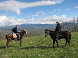 конный тур в горах