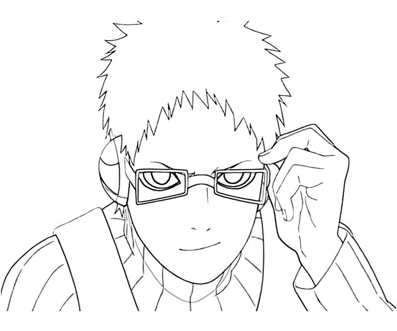 printable-naruto-chojuro-portrait-coloring-pages