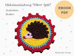 Ebook Herr Igel Button, Aufnäher