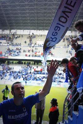 Diego Cervero al finalizar el partido