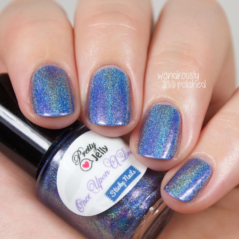Sleeping Beauty Nails: Wondrously Polished: Sticky Nails & Pretty Jelly