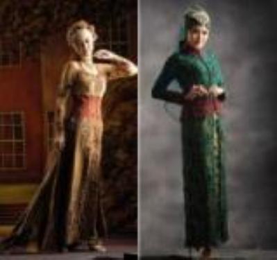 Kebaya Muslim Pengantin Modern 2013