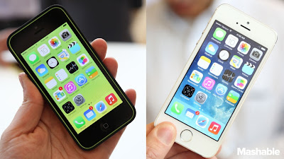 Apple iPhone 5C vs. iPhone 5S