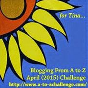 JOIN ME FOR THE A TO Z CHALLENGE