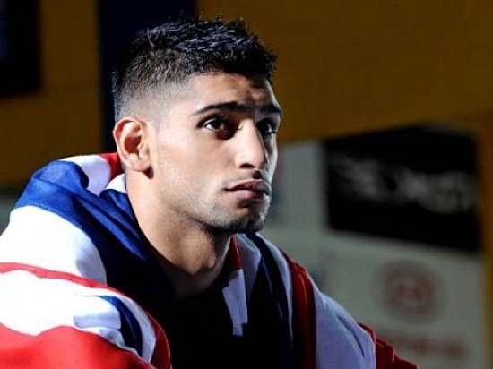 amir khan british muslim boxing