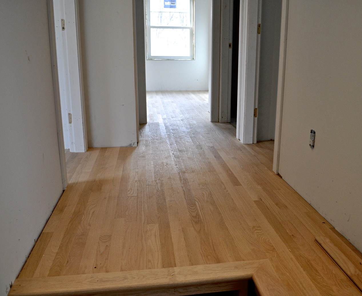 Sopo cottage mixing old and new hardwood floors for Hardwood floors upstairs
