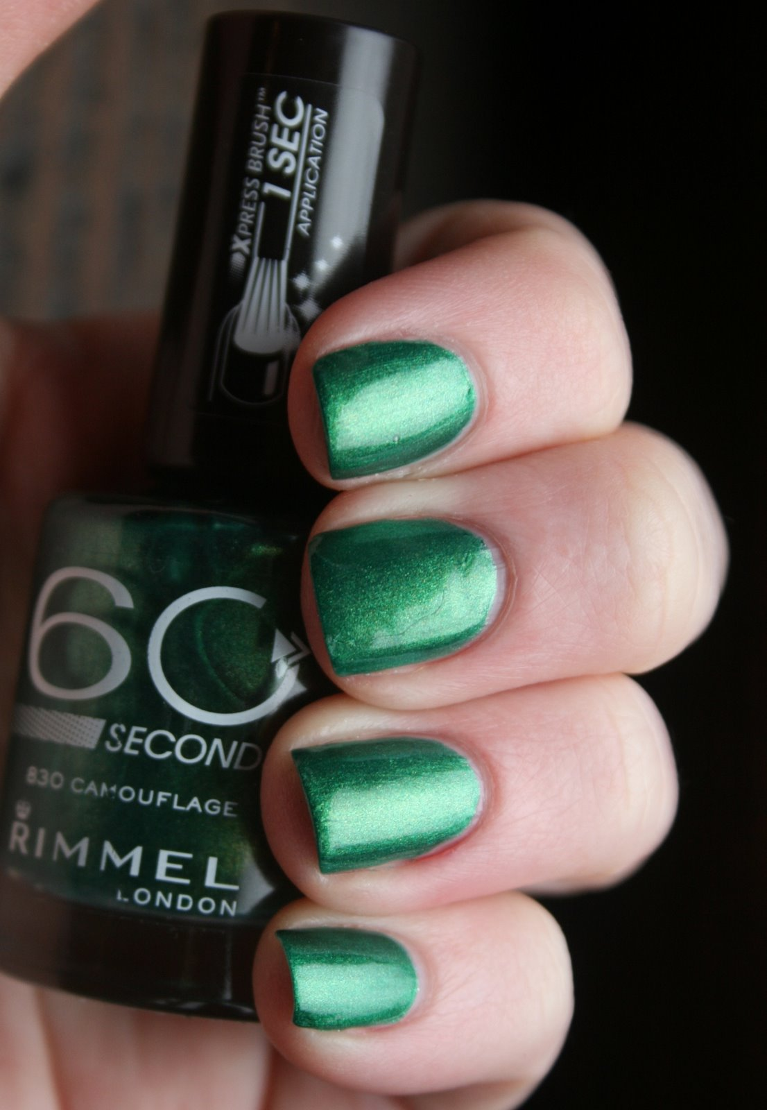 Rimmel Camouflage swatch