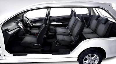 Toyota Avanza Veloz Interior