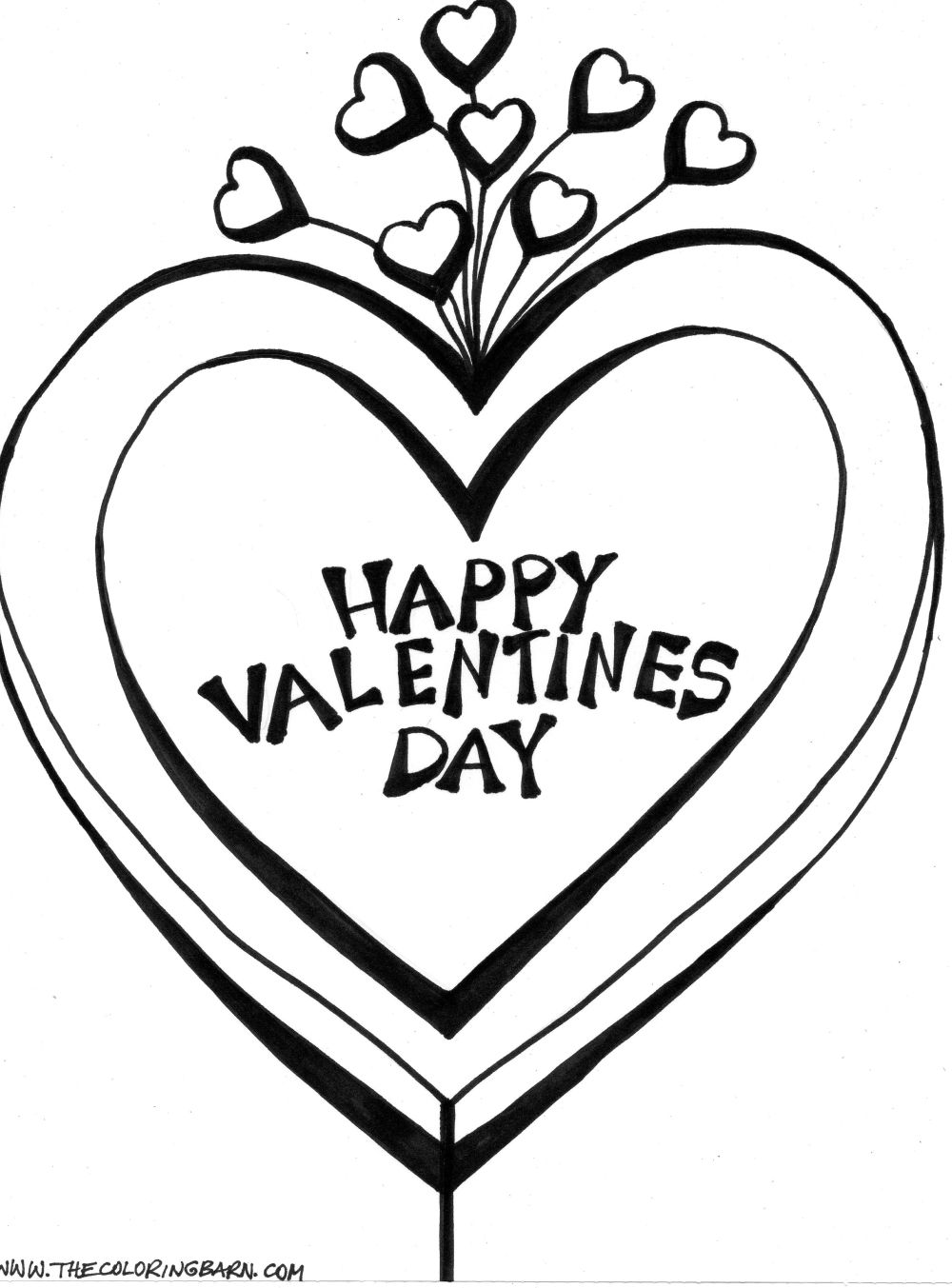 older valentines day coloring pages - photo#34