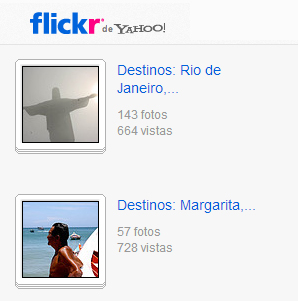 Visitame en Flickr
