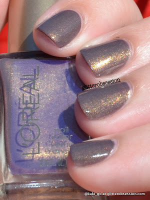 L'Oreal Brit Invasion swatch
