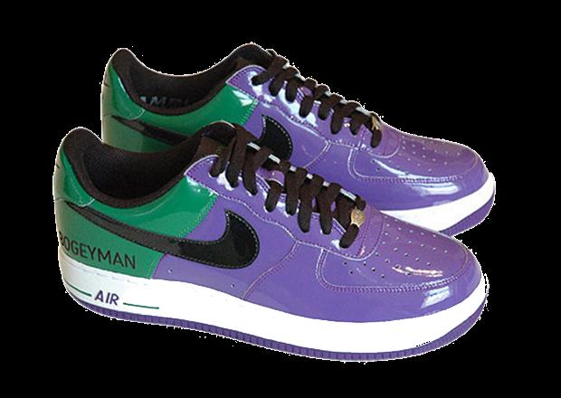 Projektowanie butów - Nike Air Force 1 Boogeyman