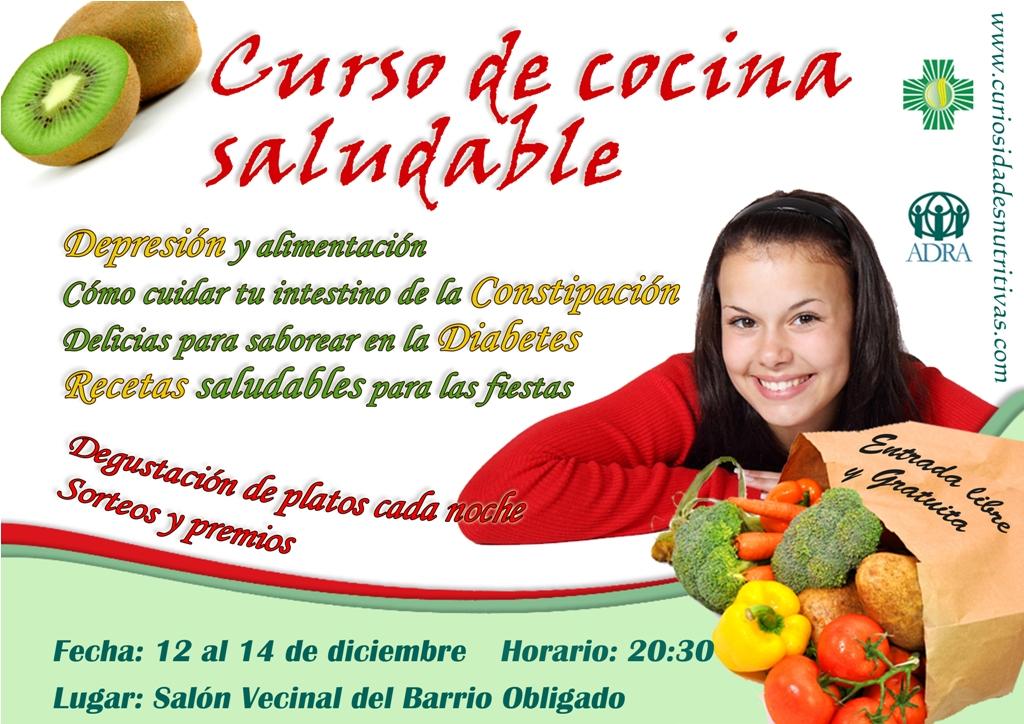 Curiosidades nutritivas curso de cocina saludable en for Cocina saludable