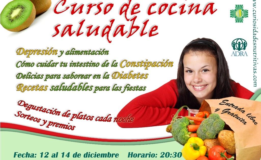 Curiosidades nutritivas curso de cocina saludable en - Curso de cocina para solteros ...
