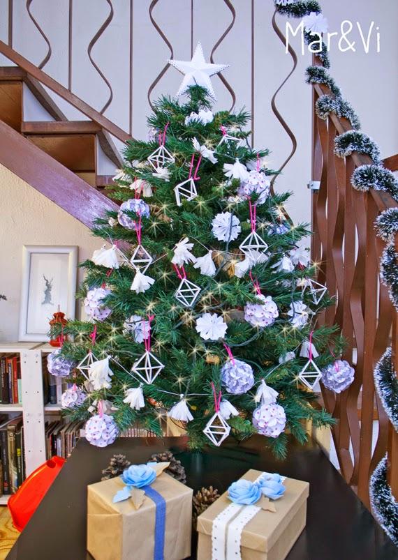Mar vi blog blanca navidad nuestro rbol navide o total - Arbol de navidad en blanco ...