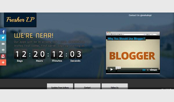 Fresher landing page blogger templates wordpress themes nulled fresher landing page blogger templates maxwellsz