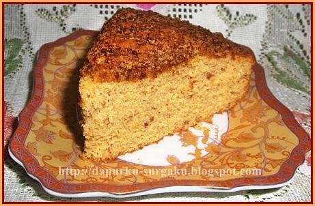 Cake Tanpa Margarin Dan Mentega, Resep Cake Kacang Tanah, Cake Tanpa Pengembang Tambahan, Bolu Kacang Gula Merah