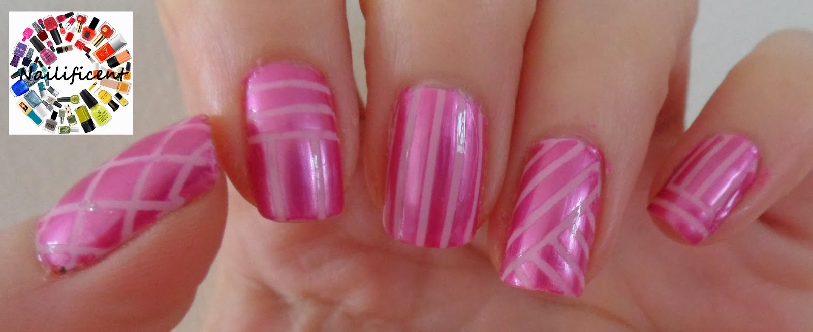 Nailificent: Stand Up To Cancer and wear pink nails